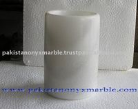 Super White Marble Vases, Marble Flower Pot, Indoor Vases