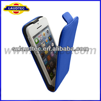 2013 Smart No holes High Quality pu leather case for Iphone 5c