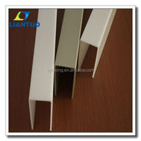 Plastic construction profile / extruded profiles / pp extrusion profiles