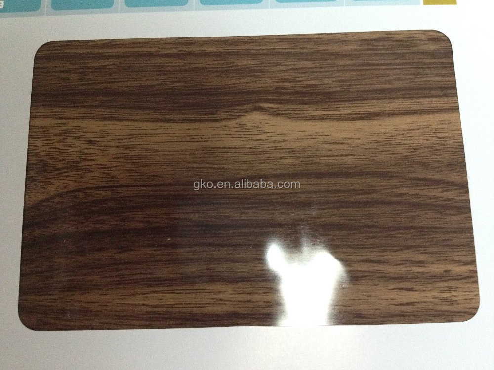 1100/3003/5005/5052 PVDF/PE COATED WOOD GRAIN ALUMINUM FOIL