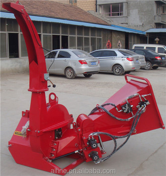 Factory supply tractor PTO driven wood chipper machine shredder