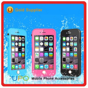 [UPO] 2017 Unique 2 in 1 Waterproof Silicon+PC Hard Plastic Mobile Phone Case for iPhone 7 7plus