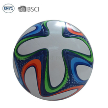 wholesale cheap size 5 and rubber bladder promotional soccer ball