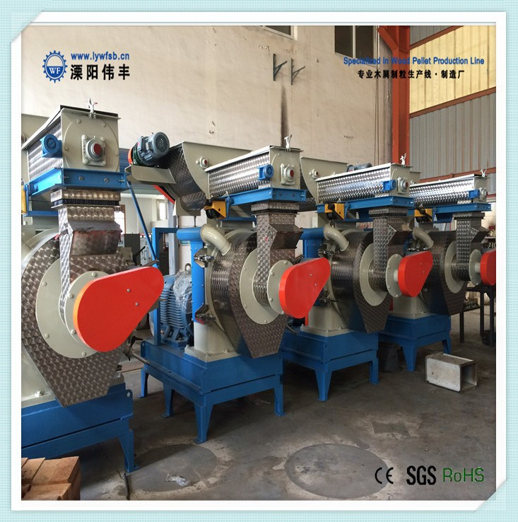 Hot Selling 1-6t/h wood pellet machine/wood pellet making machine