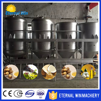 1-100tpd mini vegetable oil refinery plant edible oil refinery plant for sale