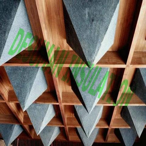 De fibra de vidrio de tela absorbente cubiertos paneles de for Paneles de fibra de vidrio