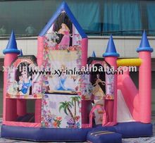Professional combo games for kids/beautiful princess bouncer