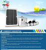 10W 20W 30W mini solar home lighting system kit / portable DC solar panel system for camping