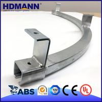 Curved Pre Galvanized Strut C Channel (perfect.best manufacturer)