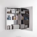 High quality low price stainless steel bathroom mirror cabinet 7024