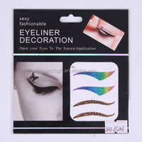 fashional make up eyeliner sticker,eye rock