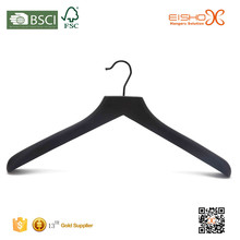 Eisho Top Grade Black Laundry Wooden Shirts Hanger
