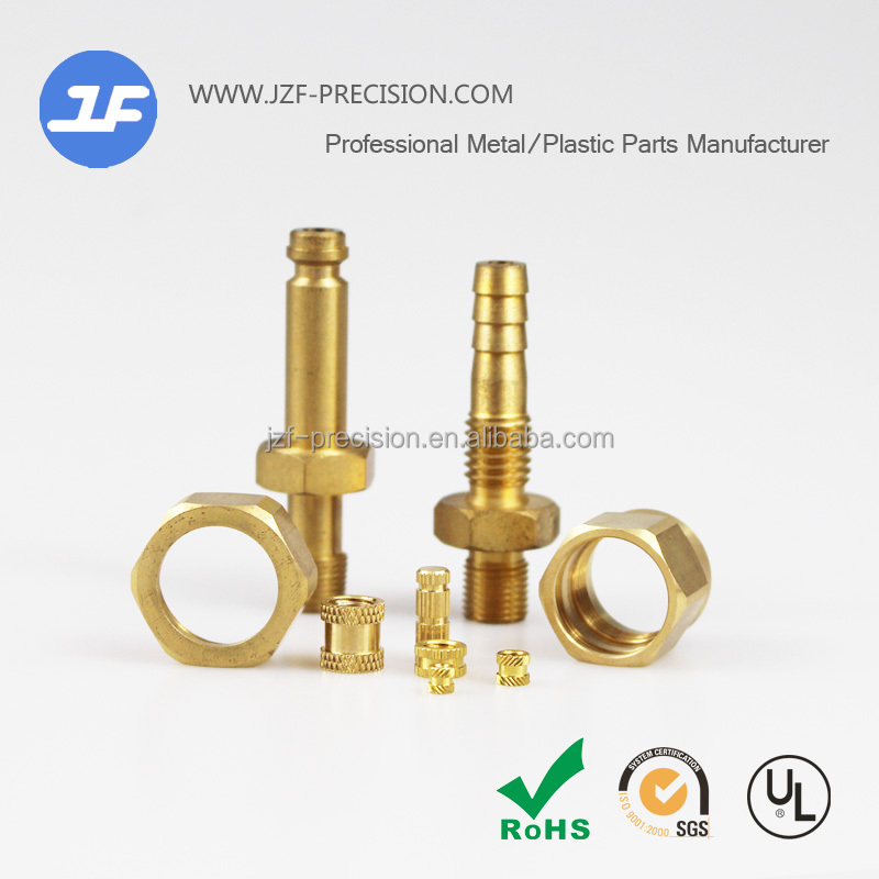 Brass processing parts lead-free copper machining parts manufacturer