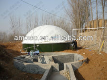Household biogas holder for biogas plant