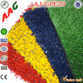 custom playground surface artificial turf colorful