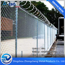 Hot Sale Chain Link Fence Galvanized/ PVC Coating Chain Link Fence China ISO Approved Manufactory Supply