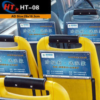 New products 2014 advertising billboard bus seat