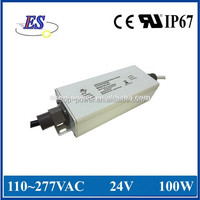 100W 24V 4.2A High Power Constant Voltage LED Driver with 1-10V Dimming