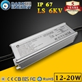 Led driver for street or flood light 12w 20w waterproof 0.3A-0.8A led driver supply