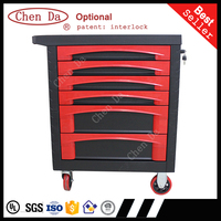 2016 version professional tool cabinet / tool trolley with hand tools