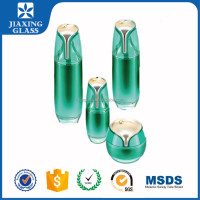 Unique Shape Cosmetic Container Glass Cosmetic Bottles and Jars