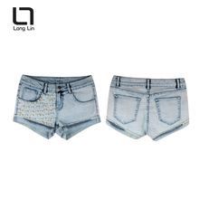 Latest design manufacturers china short sex skinny jeans women pants