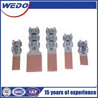 Aluminum-Copper Terminal Clamps \ battery terminal clamp \double bolt clamp ,