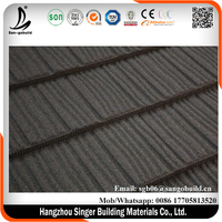 aluminum zinc colored steel sheets/prepainted metal roof / roofing tile