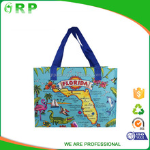 ISO/BSCI Promotional 2017 collapsible rolling shopping bag grocery bag