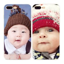 TPU Color Painting Chubby Plump Cute Baby Mobile Shell Cover Accessories for Apple iPhone 5 6 7