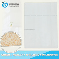 UV Surface Treatment and plastic flooring roll Type decorative marble looking vinyl flooring