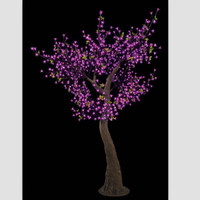 led artificial tree with flower light