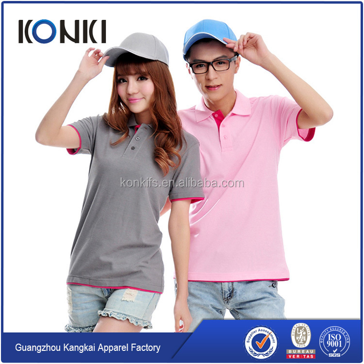 High quality custom pique polo shirt ,polo shirt 100% cotton for men