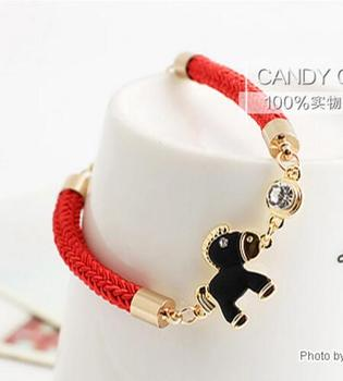 candygirl jewlery bracelet red rope fashion bracelet accessories bangle popular at high quality crystal bracelet