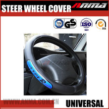 13 inch shrink genuine leather car steering wheel cover