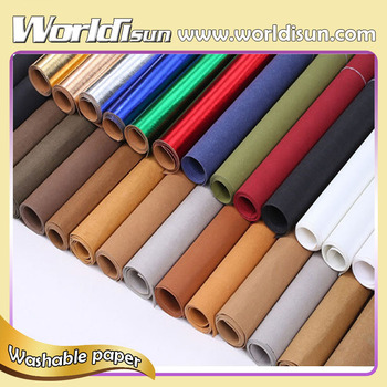Environment Friendly Brown Washable Kraft Paper For Making Bag and DIY decorations factory