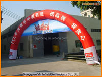 8x6m advertising inflatable billboard arch, welcome arch