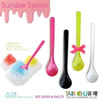18cm Made in Taiwan Birthday Party Supplies Plastic Disposable Spoons