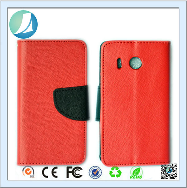 Best quality Multicolor Leather Flip Wallet Soft Mobile Phone Case for Huawei Ascend Y320