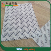 Hot sale custom printing tissue paper for hair extension