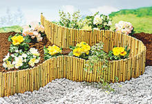 Folding Bamboo Fence, Bamboo Garden Lawn edging, Bamboo Fence Panels
