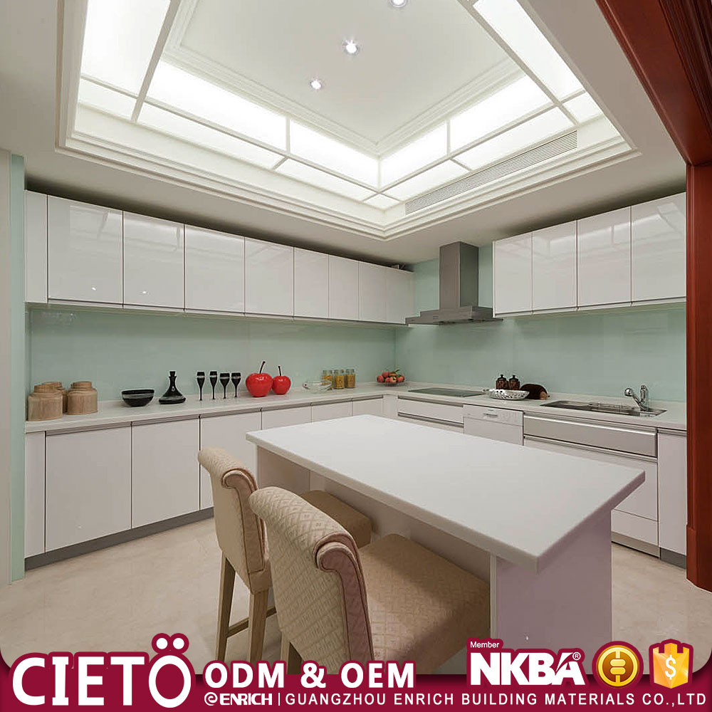 prefabricated free used kitchen cabinets made in china