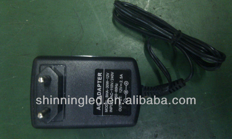 12V/2.5A Power Adapter
