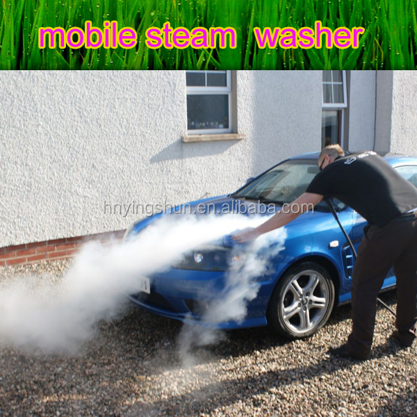 CE no boiler 18 bar 2 hoses diesel steam car wash machine /steam best car wash in toronto