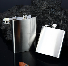 4 5 6 7 8 10 OZ Stainless Steel Hip Liquor black Whiskey Alcohol Flask Cap Funnel Cool hip flask