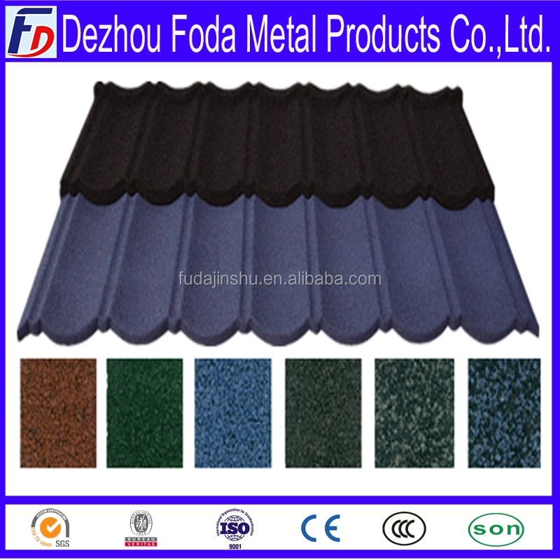building construction material spanish metal roof tile