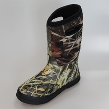 Camo Neoprene Kids Winter Boots