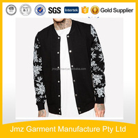 Mens top custom high quality coat in China apparel supplier