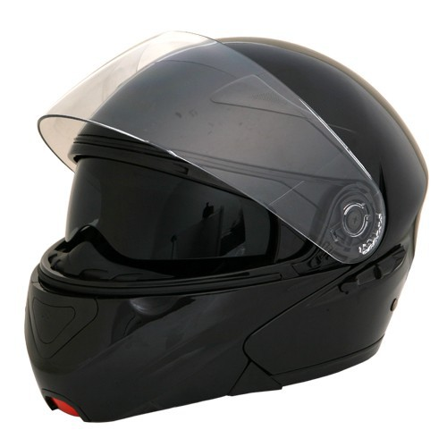 2017 ECE Approved Modular Dual Visor Flip Up Motorcycle Helmet
