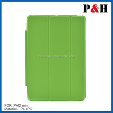 Magnetic leather case for ipad air folding leather case paypal accepted